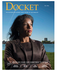 The Docket - Law Alumni Magazine