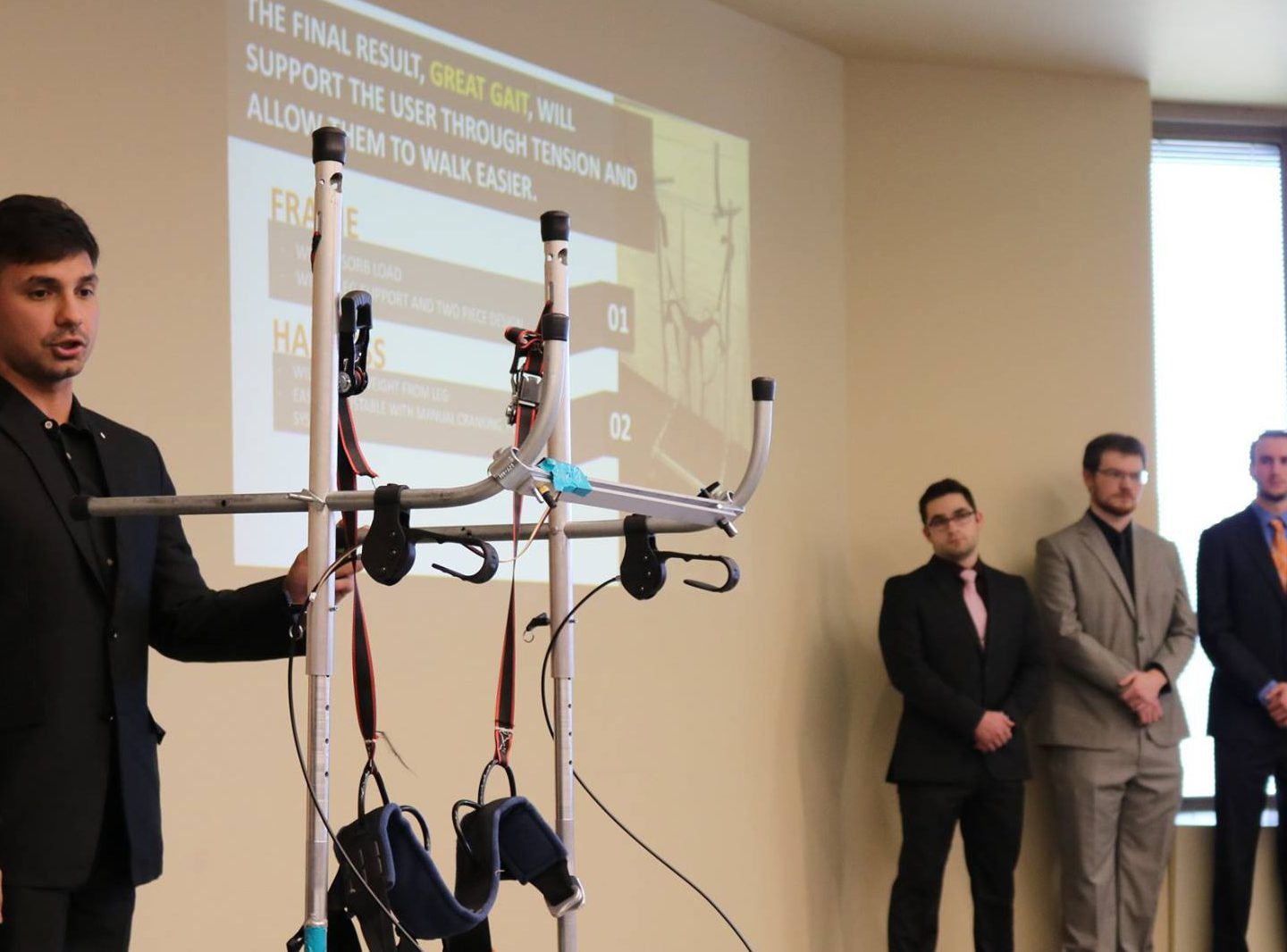Engineering, Nursing students' projects designed to improve life for veterans