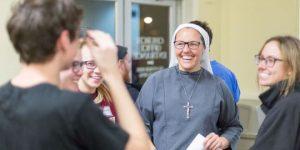 Sister Rita Anne Yoches '01 takes her final vows June 30. Photo: Detroit Free Press