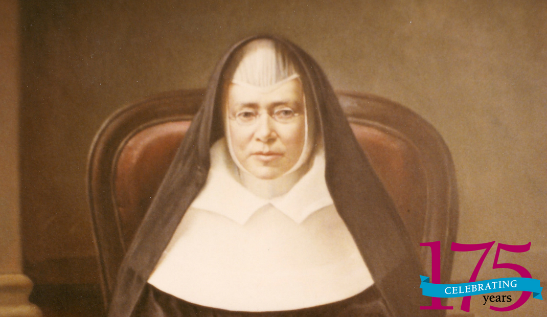 Sister Frances Warde, shown here, brought the Religious Sisters of Mercy to the United States 175 years ago this year. The Sisters of Mercy are celebrating that occasion with a year of events and calls to mercy.