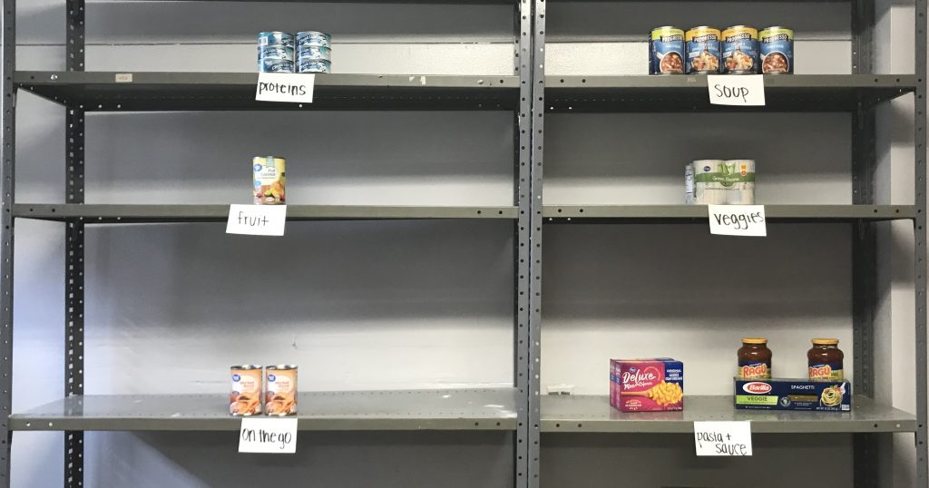 The new Student Pantry on the University's McNichols Campus needs help to ease food insecurity among the University's students.