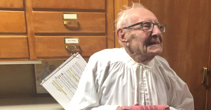 100-year-old alumnus featured in national publication