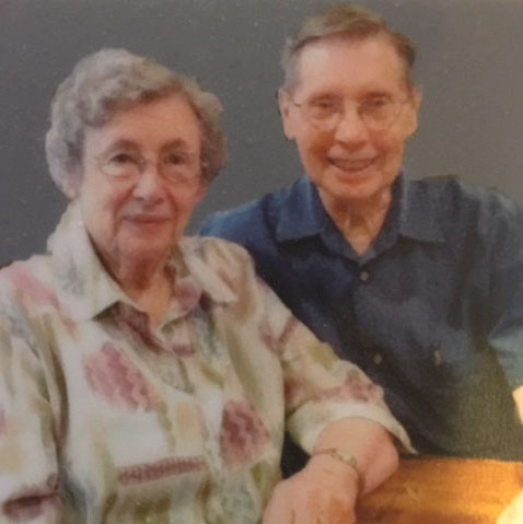 Mary Jane and Clare Gerow met in Physics class and were later married.