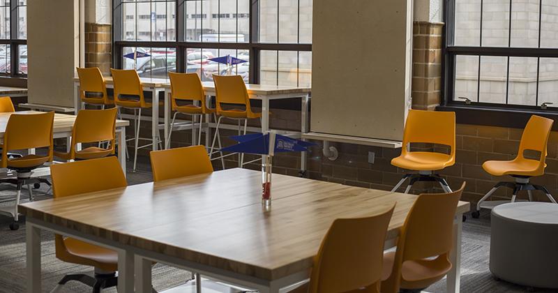 Detroit Mercy dedicates Seibert Center for Innovation & Collaboration