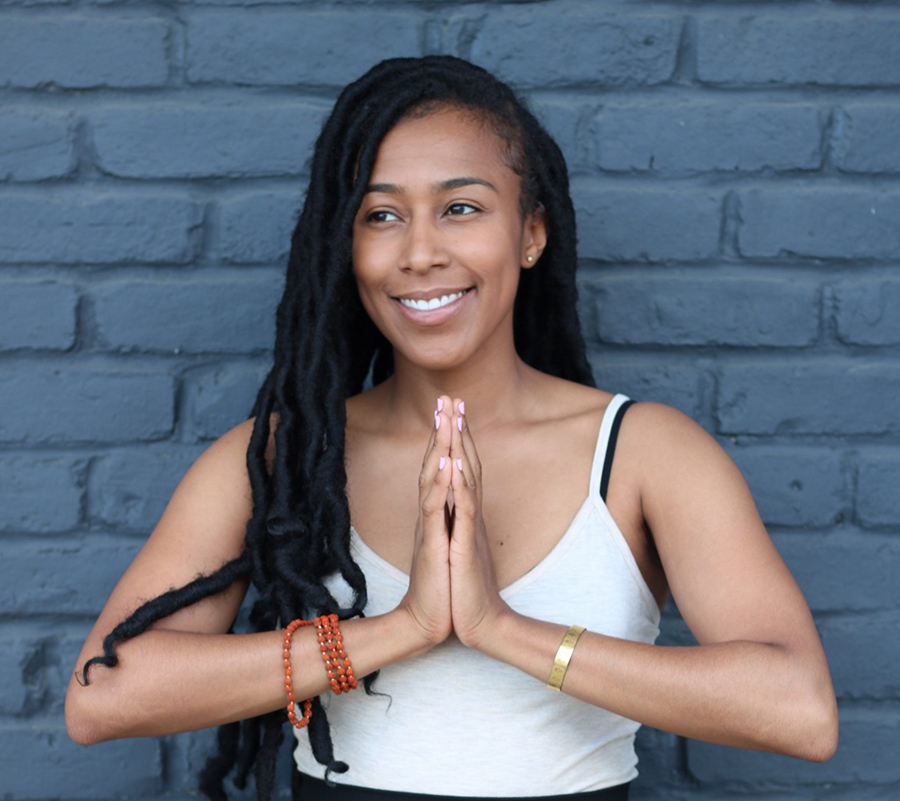 Kerrie Trahan '05 is bringing the healing benefits of yoga to Detroiters.