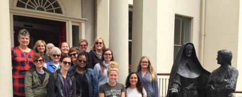 Nursing trip to McAuley's homeland is eye-opening for students, alumni, faculty