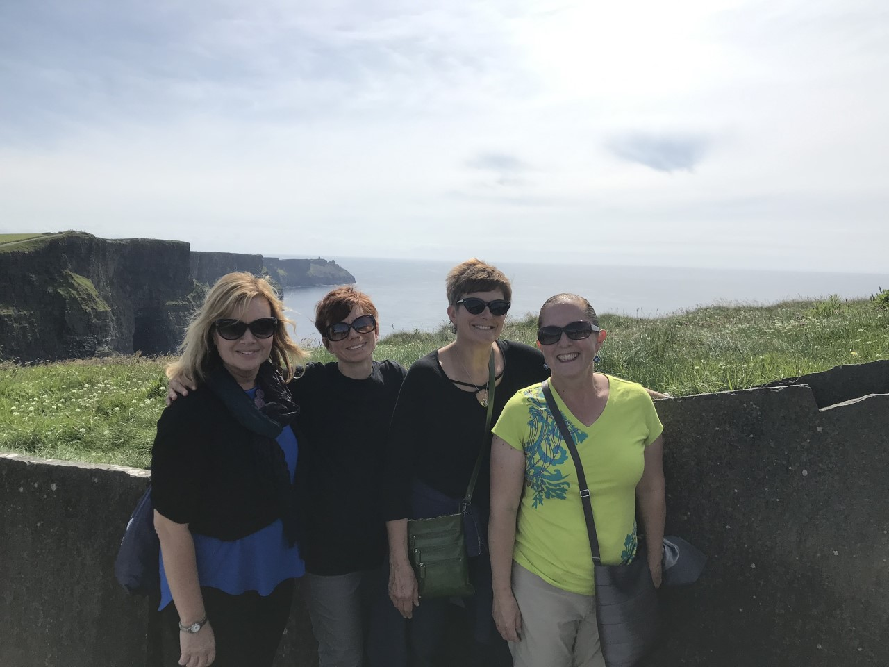 There was also time to tour the country, and the group took a trip to the famous Cliffs of Moher.