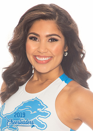 Mackenzie says being a Detroit Lions cheerleader is a dream come true.