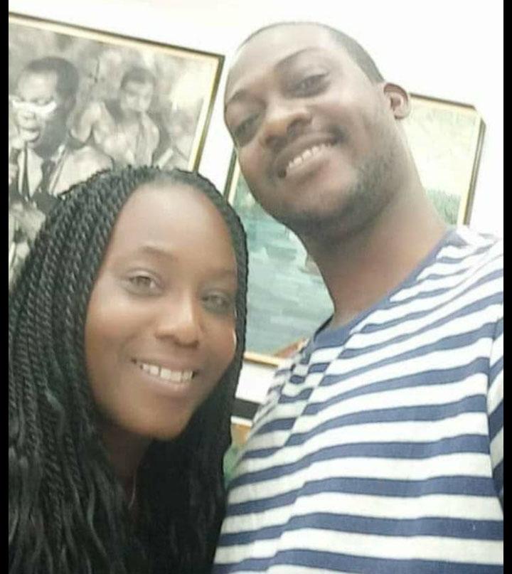 Yolanda Grandison and her business partner Joshua Nuga