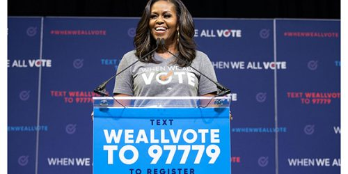 CANCELLED: Michelle Obama to host When We All Vote  Rally at Calihan Hall March 27
