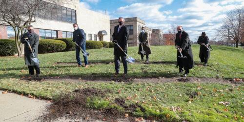 University breaks ground on McNichols Campus Renovation Project