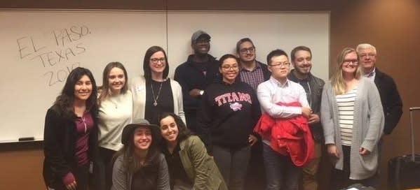 Students prepare for Winter Break 2018 Service Immersion Trips