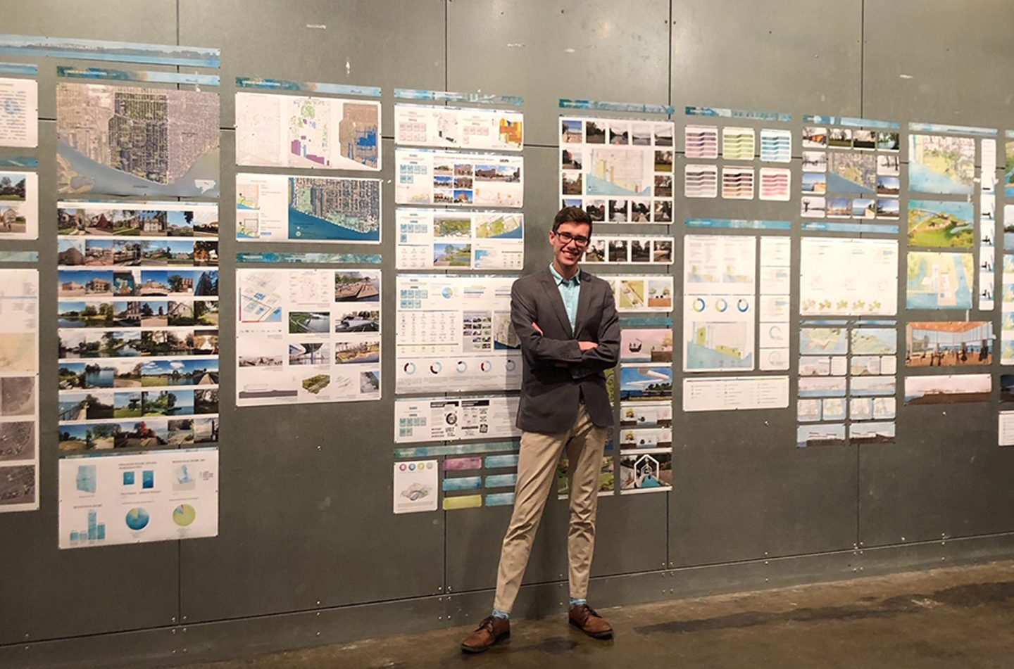 Scholarship builds architecture student's dream of helping Detroit